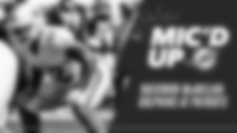 Raekwon McMillan Mic'd Up: Dolphins at Patriots
