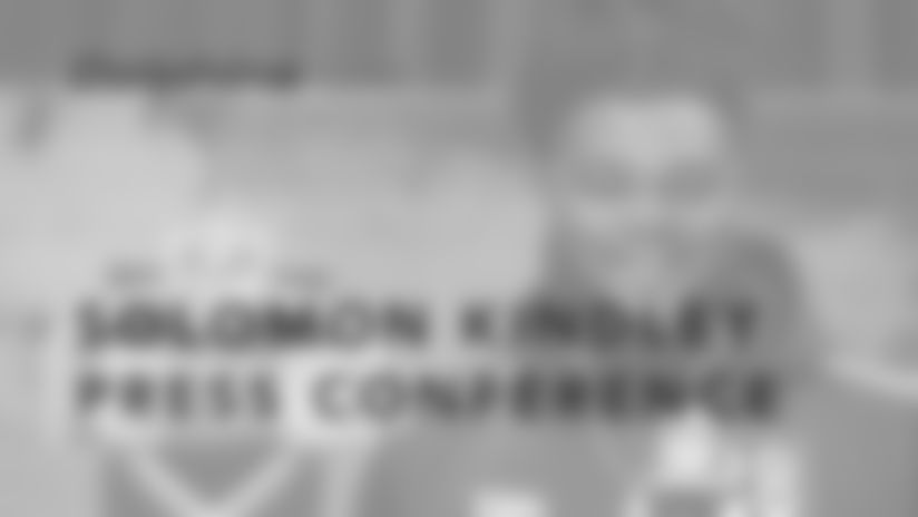 Solomon Kindley NFL Draft Press Conference