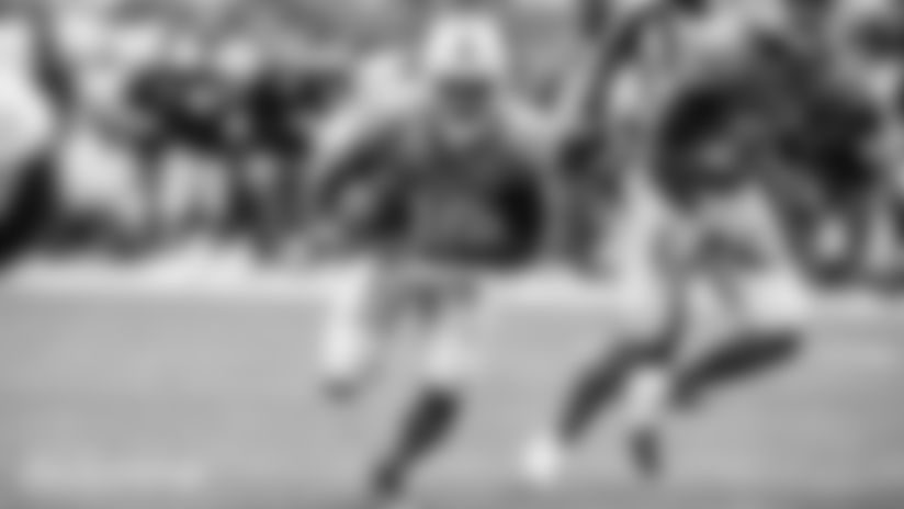 Photo: Jakeem Grant running against the Buffalo Bills in 2019