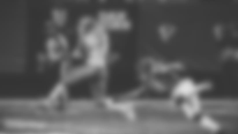 Kansas City Chiefs wide receiver Albert Wilson (12) runs after intercepting a Atlanta Falcons quarterback Matt Ryan pass as Atlanta Falcons wide receiver Eric Weems (14) defends during the second half of an NFL football game, Sunday, Dec. 4, 2016, in Atlanta. (AP Photo/John Bazemore)