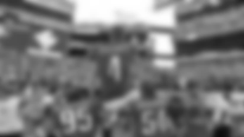 LB Mychal Kendricks, K Jake Elliott, and LB Kamu Grugier-Hill