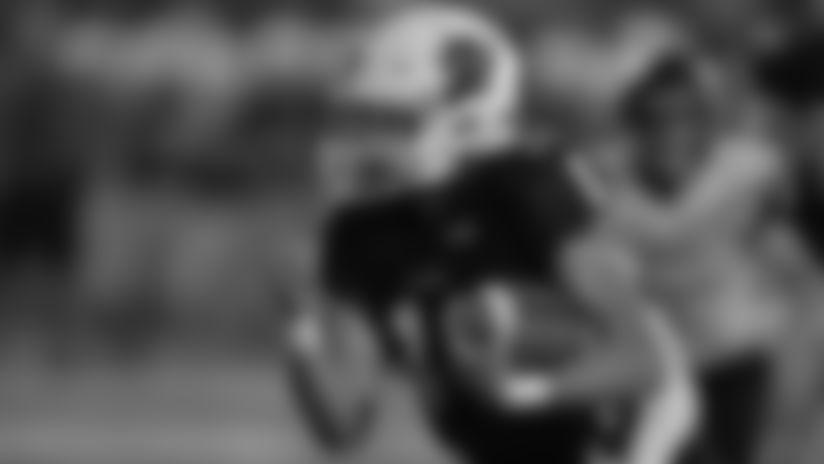 Radnor vs Garnet Valley High School Football for NFL 100 at Garnet Valley High School on September 20, 2019 in Glen Mills, Pennsylvania.  (Photo by Drew Hallowell/Philadelphia Eagles)