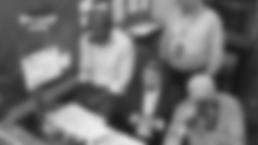 Merrill Cam: Daeshon Hall's sack
