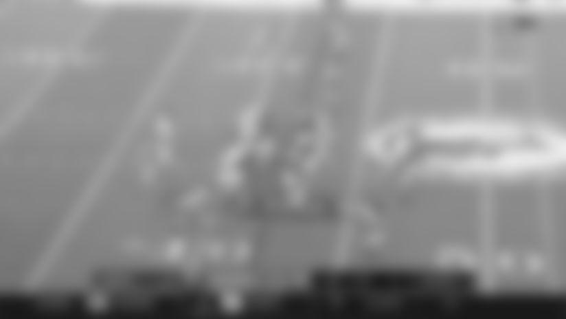Highlight: Dallas Goedert turns Wentz's laser throw into a 24-yard catch and run