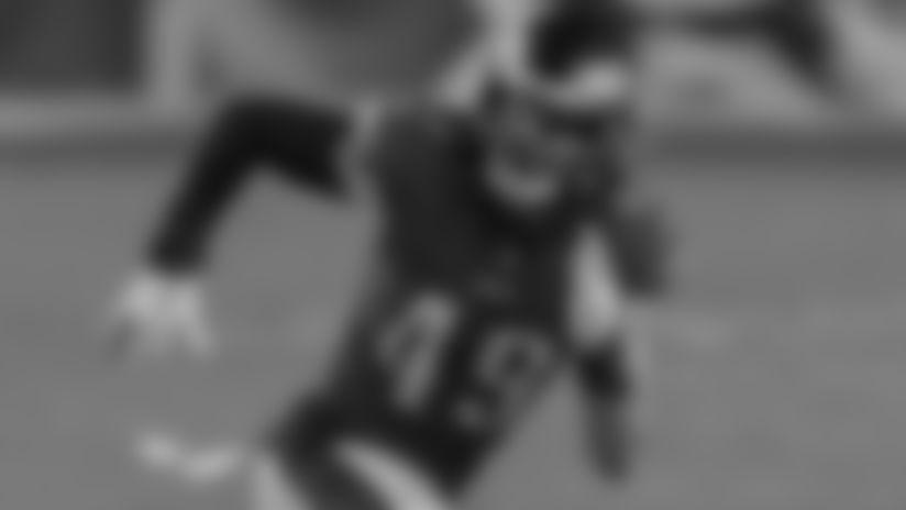 LB Alex Singleton  Philadelphia Eagles vs. Washington Football Team at Lincoln Financial Field on January 3, 2021