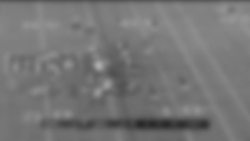 Highlight: Carson Wentz tosses 28-yard strike to Dallas Goedert