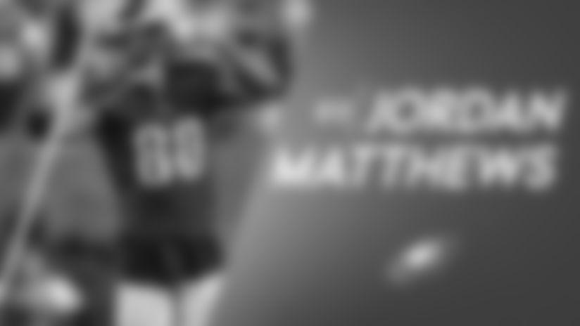 Eagles welcome back Jordan Matthews