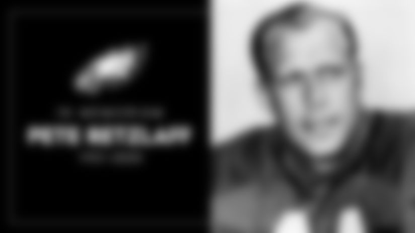 Eagles mourn the passing of Hall of Famer Pete Retzlaff