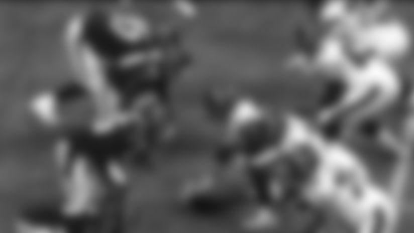 Neasman flies through untouched on the blitz for huge third-down sack