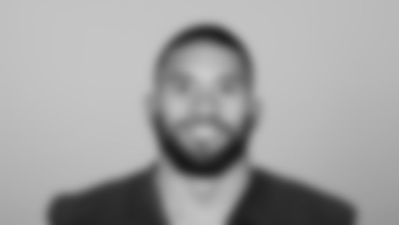 This is a 2021 photo of Alani Pututau of the Atlanta Falcons NFL football team.  This image reflects the Atlanta Falcons active roster as of May 12, 2021 when this image was taken.  (AP Photo)
