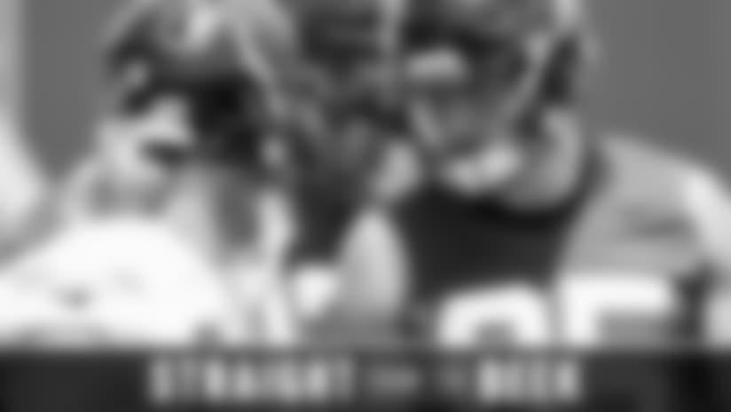 Questions about Eric Saubert's potential impact, Calvin Ridley's hands, Julio Jones, website, more