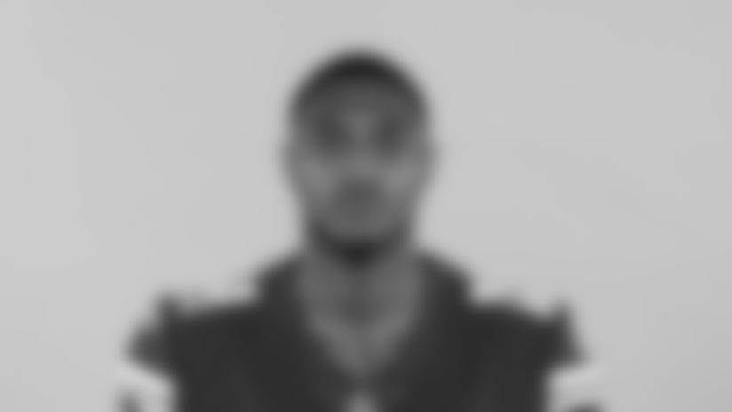 This is a 2020 photo of Tajae' Sharpe of the Minnesota Vikings NFL football team. This image reflects the Minnesota Vikings active roster as of Thursday, Sept. 3, 2020 when this image was taken. (AP Photo)
