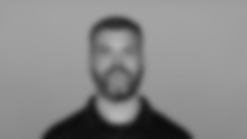 Headshot image of Atlanta Falcons Offensive Line Coach Dwayne Ledford
