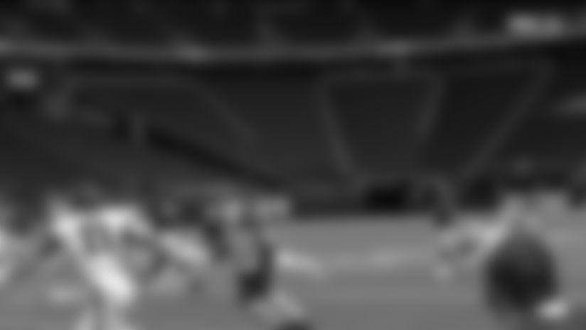Matt Ryan with a 40-yard touchdown pass to Julio Jones vs. Minnesota Vikings