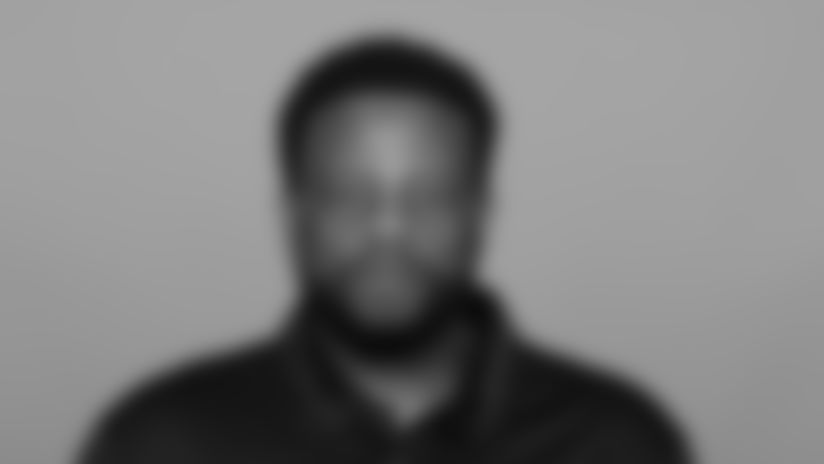 Headshot image of Atlanta Falcons Assistant Strength and Conditioning Coach Roderick Moore Jr.