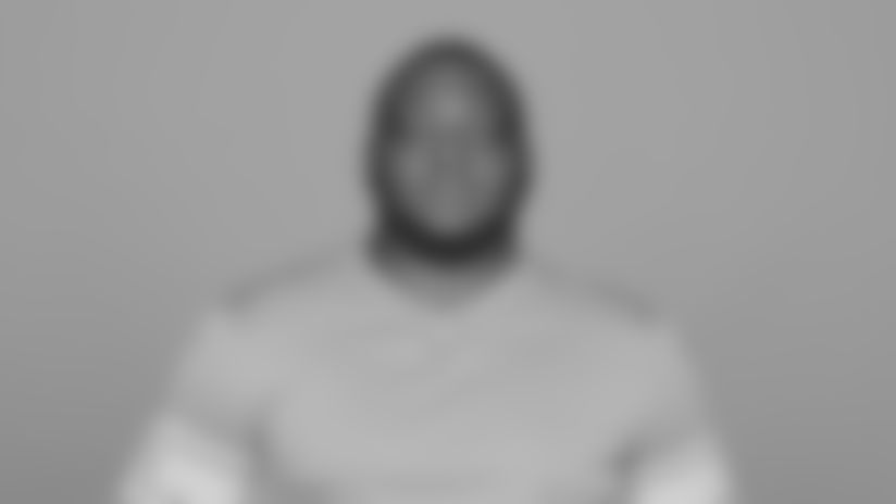 This is a 2019 photo of John Atkins of the Detroit Lions NFL football team. This image reflects the Detroit Lions active roster as of Monday, June 3, 2019 when this image was taken. (AP Photo)