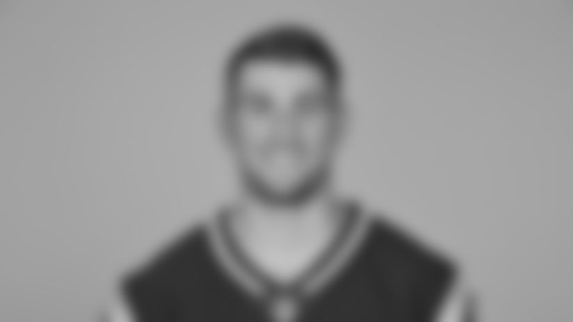 This is a 2019 photo of Danny Etling of the New England Patriots NFL football team. This image reflects the New England Patriots active roster as of Monday, June 3, 2019 when this image was taken. (AP Photo)