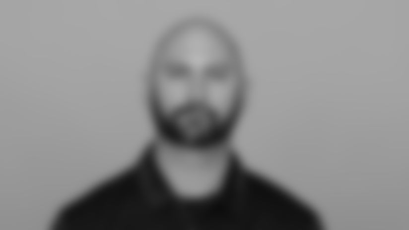Headshot image of Atlanta Falcons Assistant Offensive Line Coach Chandler Henley