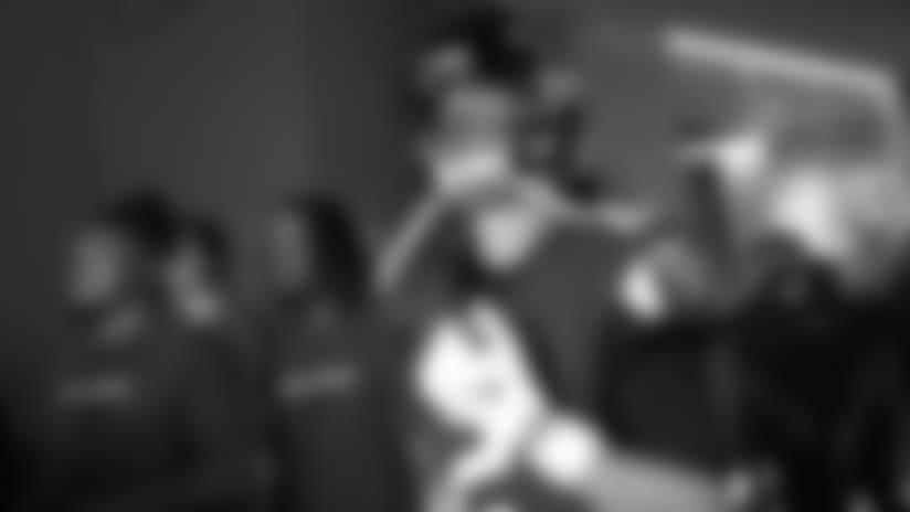 Atlanta Falcons quarterback Matt Ryan (2) awaits entering the field before the first half of an NFL football game between the Atlanta Falcons and the New Orleans Saints, Sunday, Sept. 23, 2018, in Atlanta. (AP Photo/David Goldman)