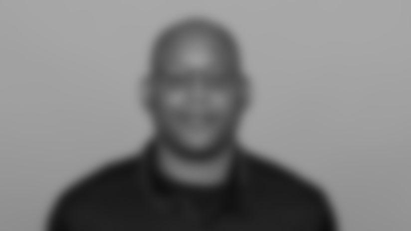 Headshot image of Atlanta Falcons Running Backs Coach Desmond Kitchings