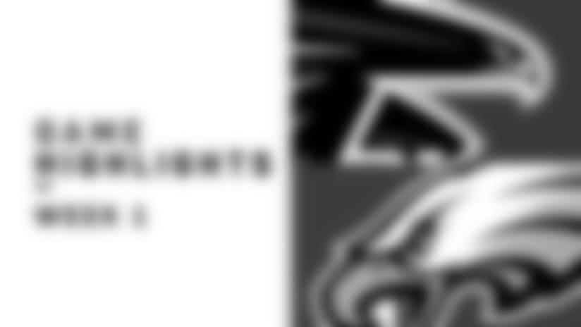 Falcons vs. Eagles highlights   Week 1