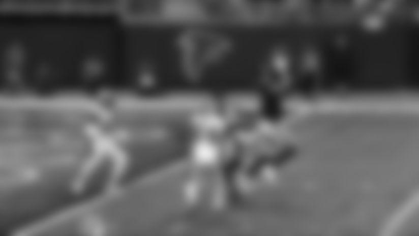 Jaeden Graham pulls in Ryan's laser pass for first NFL TD