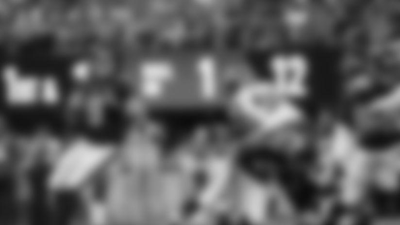 Sideline Access: Austin Hooper scores a touchdown