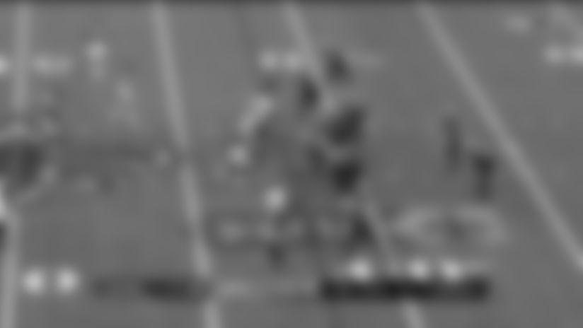 Grady Jarrett climbs pocket for third-down sack