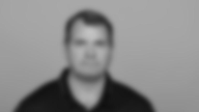 Headshot image of Atlanta Falcons Director of Coaching Operations Brain Griffin
