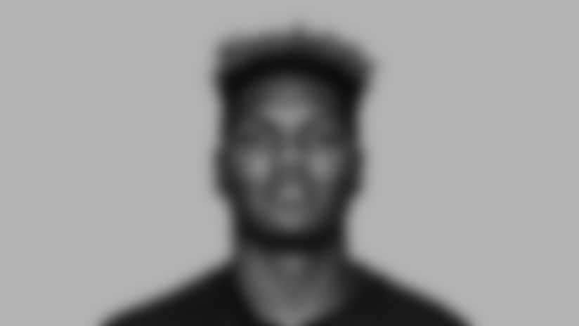 This is a 2020 photo of {Player Name} of the Atlanta Falcons NFL football team.  This image reflects the Atlanta Falcons active roster as of August 9, 2020 when this image was taken.  (AP Photo)