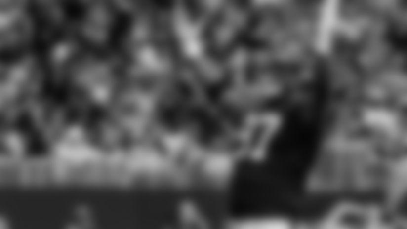 Sideline Access: Grady Jarrett sacks Russell Wilson