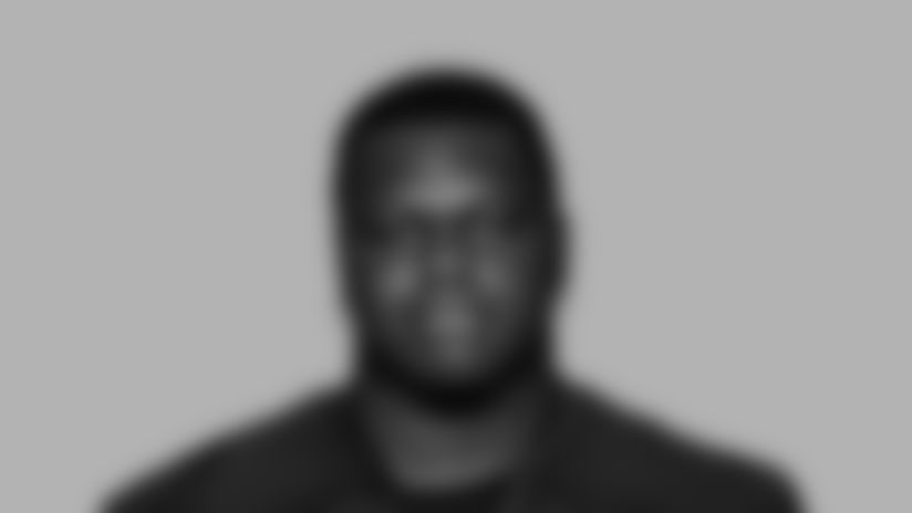 This is a 2020 photo of defensive tackle Marlon Davidson #90  of the Atlanta Falcons NFL football team.  This image reflects the Atlanta Falcons active roster as of August 9, 2020 when this image was taken.  (AP Photo)