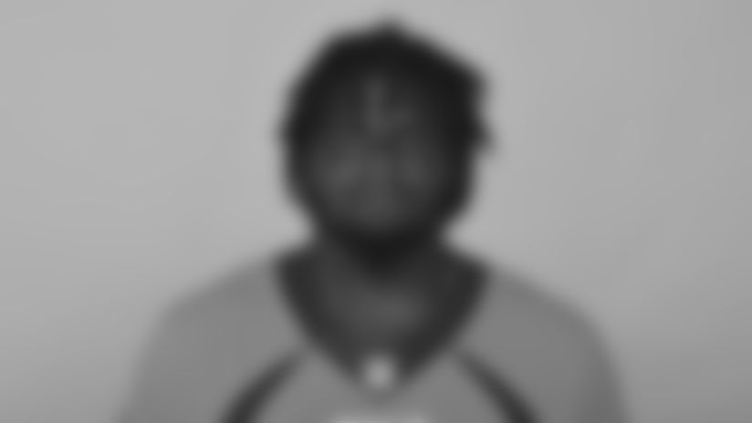 This is a photo of Jeff Holland of the Denver Broncos NFL football team. This image reflects the Denver Broncos active roster as of Thursday, June 6, 2019. (AP Photo)