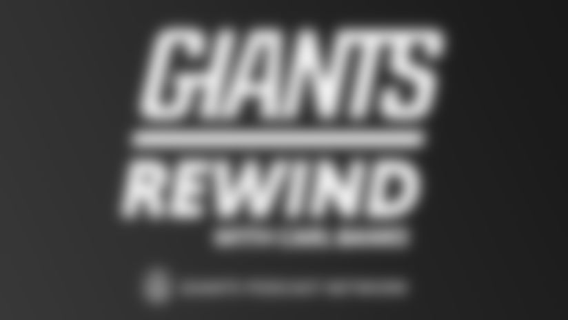 Giants Rewind with Carl Banks Logo