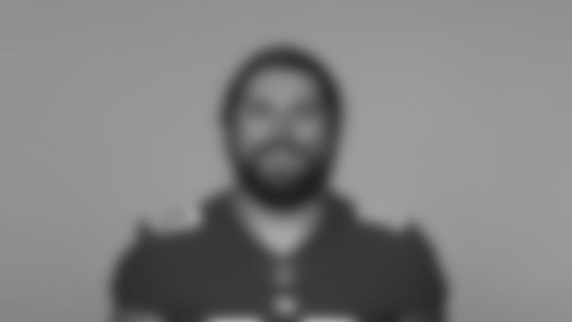 This is a 2020 photo of Eric Tomlinson of the New York Giants NFL football team. This image reflects the New York Giants active roster as of August 1, 2020 when this image was taken. (AP Photo)