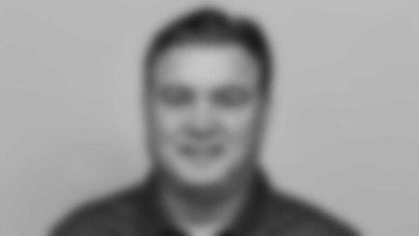 New York Giants assistant coach Amos Jones