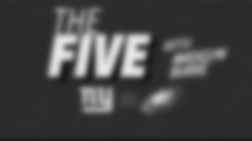 """The Five""  What you need to know about NYG-PHI"
