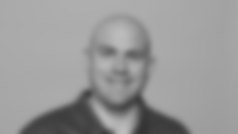 This is a 2021 photo of Rob Sale of the New York Giants NFL football team. This image reflects the New York Giants active roster as of April 16, 2021  when this image was taken. (Evan Pinkus New York Giants)