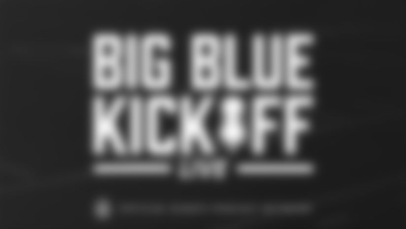 Big Blue Kickoff Live (8/6) | Daniel Jones and Blake Martinez audio and Sam Beal opting out