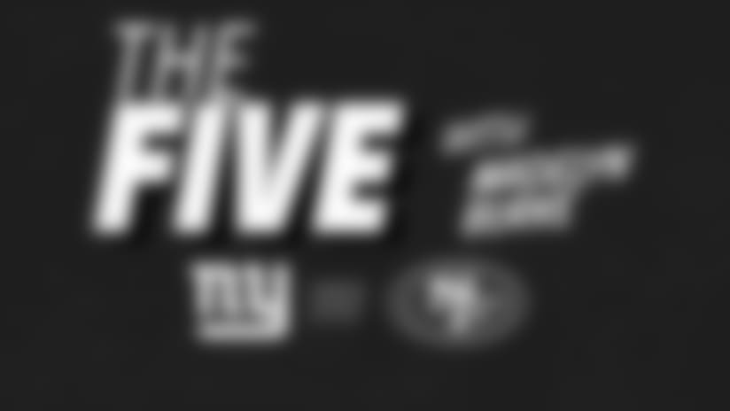 """The Five"" What you need to know about NYG-SF"
