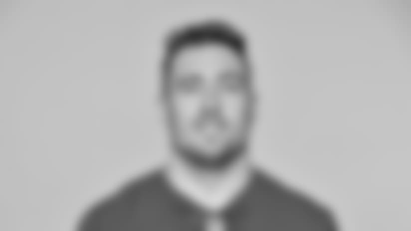 This is a 2018 photo of Scott Simonson of the New York Giants NFL football team. This image reflects the New York Giants active roster as of June 11, 2018 when this image was taken. (AP Photo)