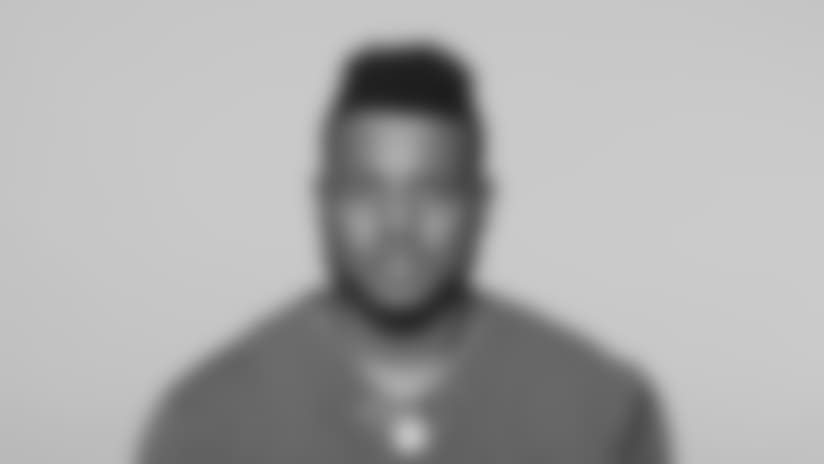 This is a 2018 photo of Thurston Armbrister  of the New York Giants NFL football team. This image reflects the New York Giants active roster as of June 11, 2018 when this image was taken. (AP Photo)
