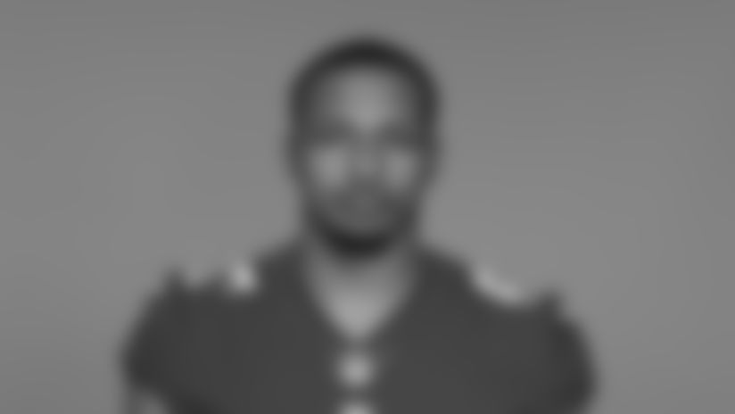 This is a 2020 photo of Rysen John of the New York Giants NFL football team. This image reflects the New York Giants active roster as of August 1, 2020 when this image was taken. (AP Photo)