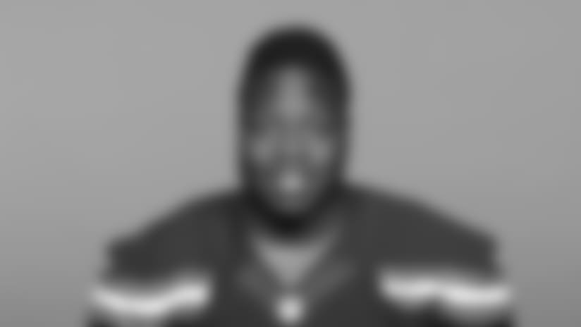 This is a 2018 photo of Victor Salako of the Cleveland Browns NFL football team. This image reflects the Cleveland Browns active roster as of Wednesday, April 25, 2018 when this image was taken. (AP Photo)
