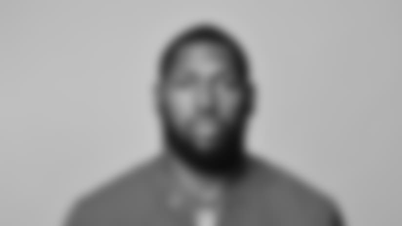 This is a 2018 photo of Garrett Dickerson of the New York Giants NFL football team. This image reflects the New York Giants active roster as of May 10, 2018 when this image was taken. (AP Photo)