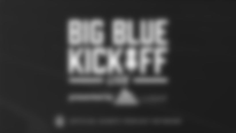 Big Blue Kickoff Live (1/24) | Brandon Jacobs and David Tyree join for a special show