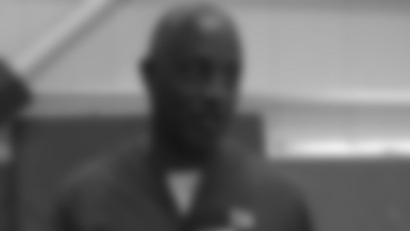 RB Coach Johnson on development of Barkley, younger backs