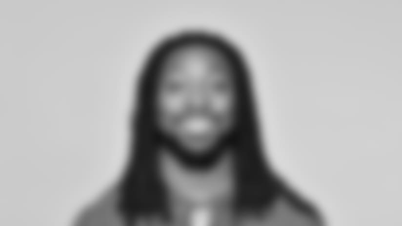 This is a 2018 photo of Paul Perkins of the New York Giants NFL football team. This image reflects the New York Giants active roster as of June 11, 2018 when this image was taken. (AP Photo)