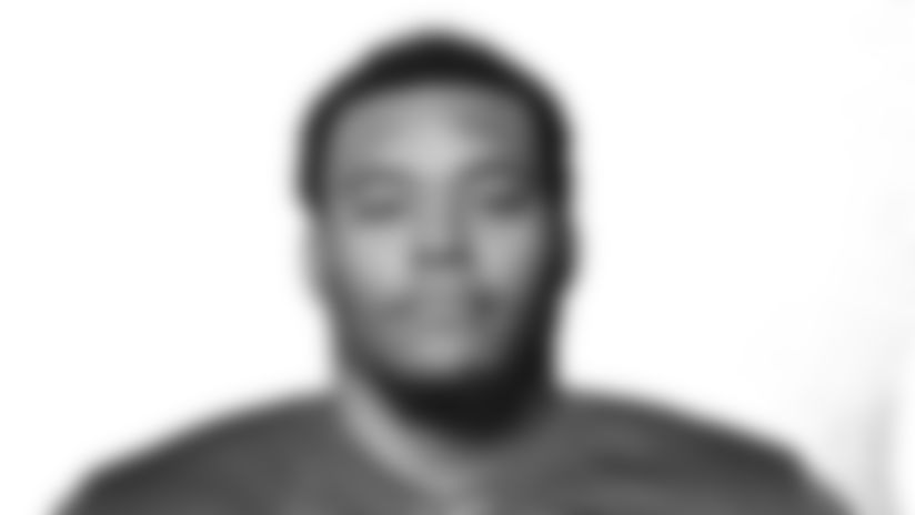 This is a 2018 photo of Malcolm Bunch of the New York Giants NFL football team. This image reflects the New York Giants active roster as of May 10, 2018 when this image was taken. (AP Photo)