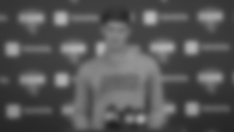 QB Daniel Jones on his role at Training Camp
